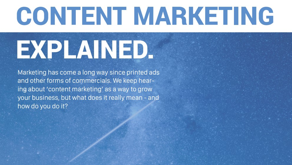 Content Marketing free eBook